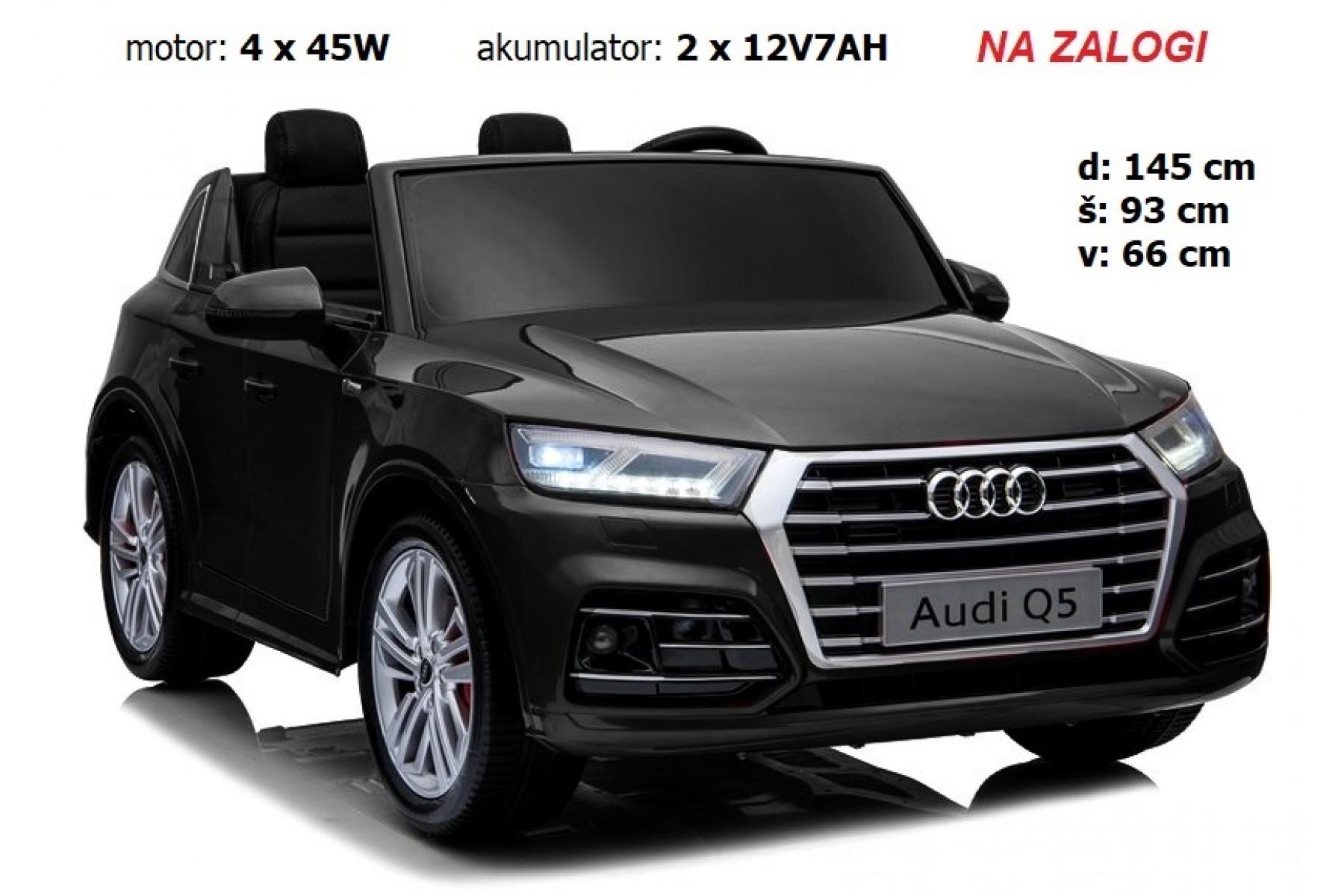 AUDI Q5 Quattro DVOSED (črn)