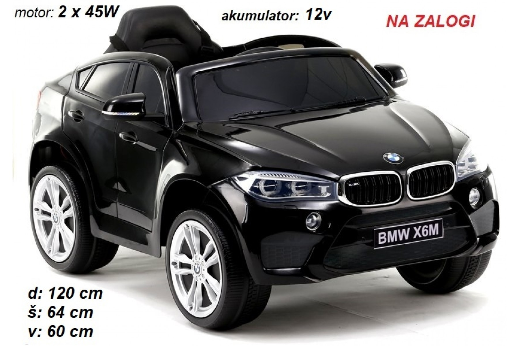 BMW X6M enosed