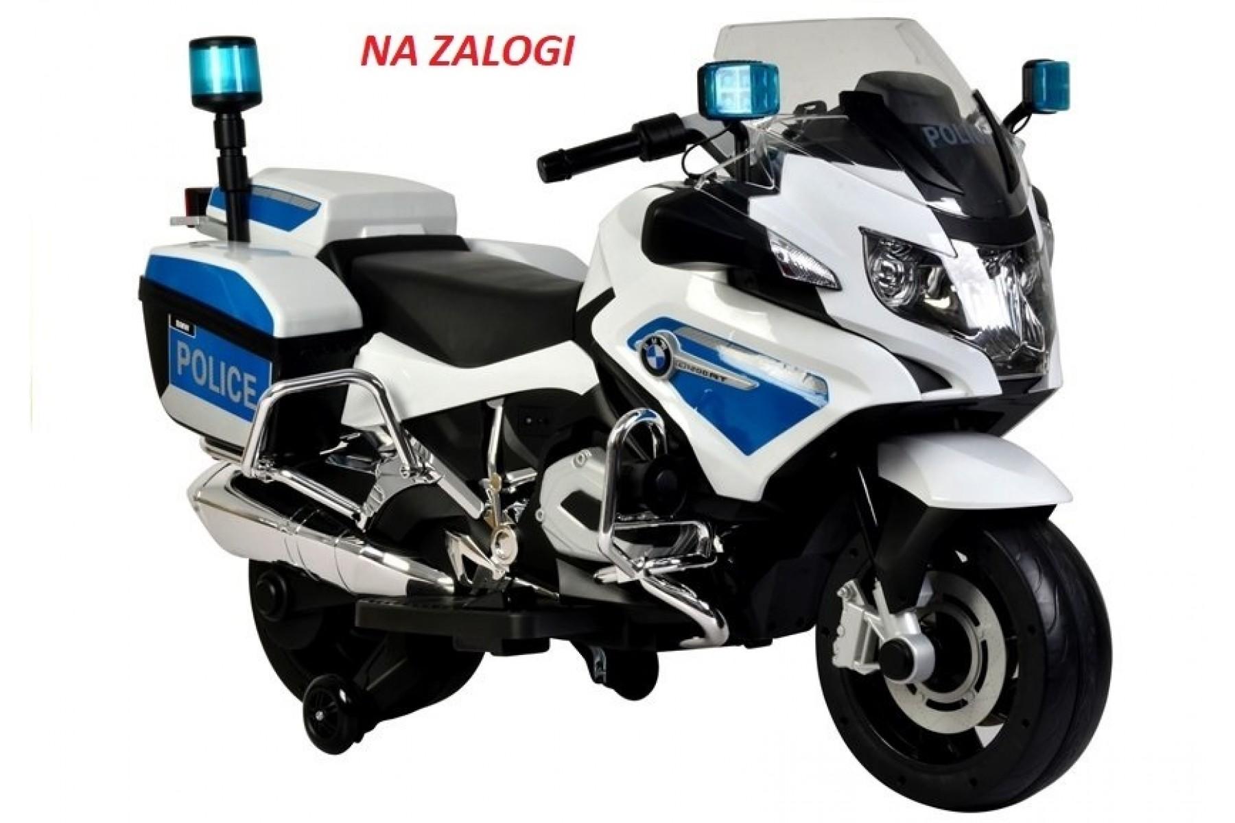 BMW OTROŠKI POLICIJSKI MOTOR 45W NA AKUMULATOR