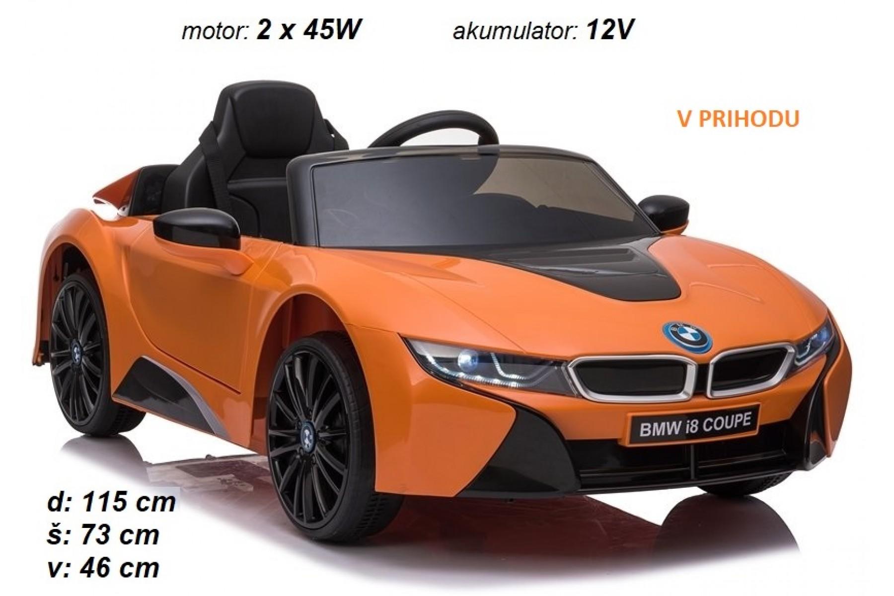 BMW I8 (oranžen)