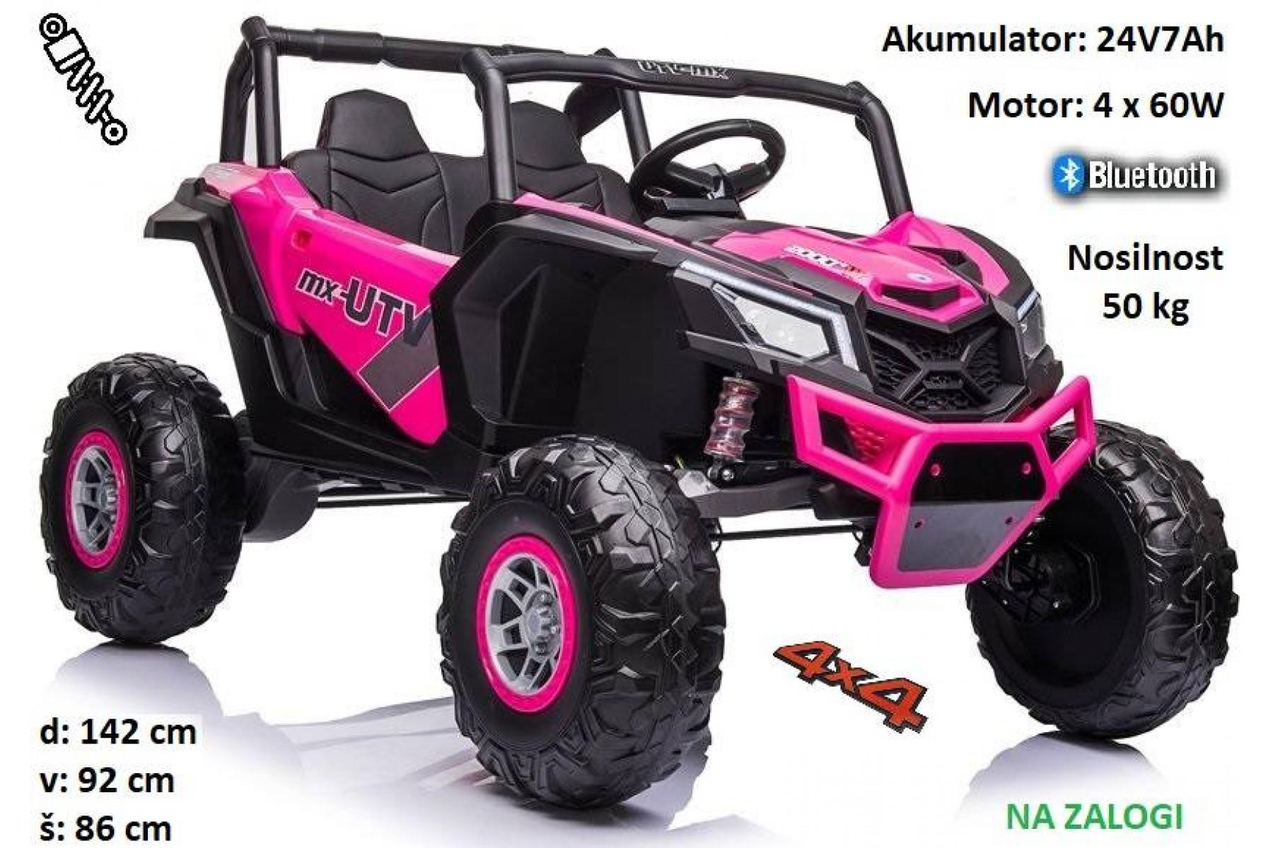 Buggy UTV-XMX613 (24V7Ah) roza