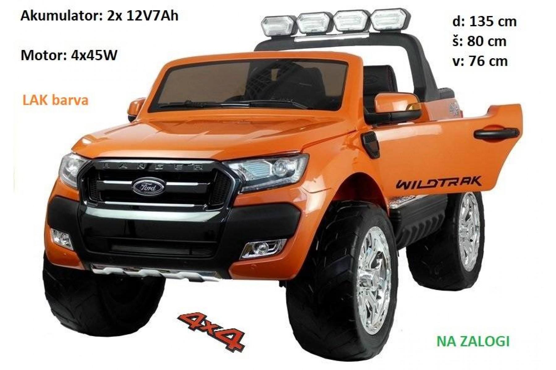 Ford Ranger LAK oranžna barva 4x4