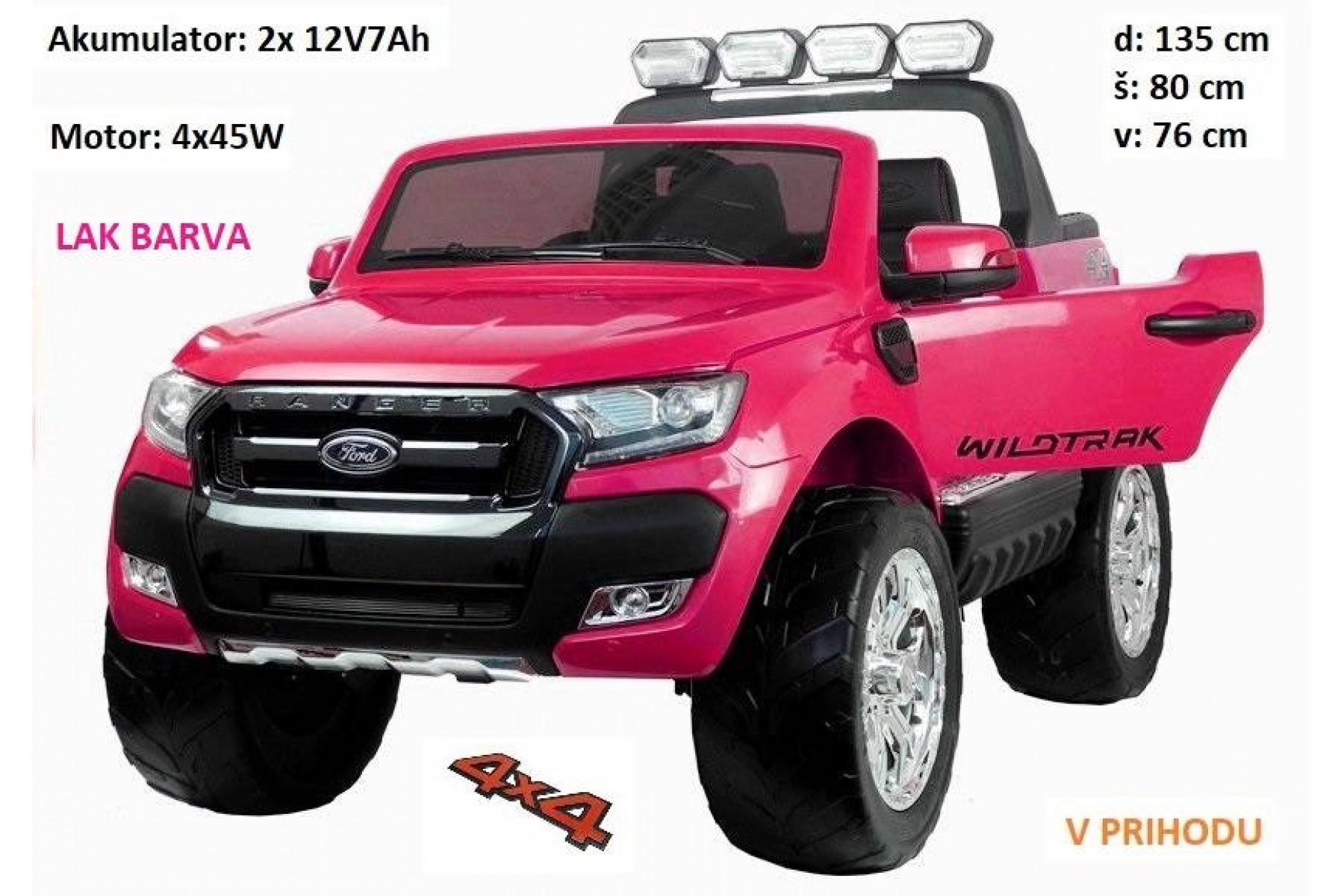 Ford Ranger LAK roza barva 4x4 AKCIJA