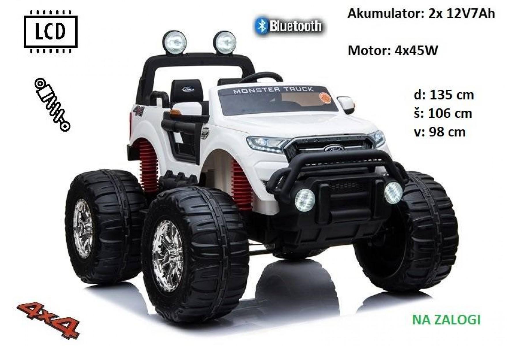Ford Ranger Monster XL (bel) AKCIJA