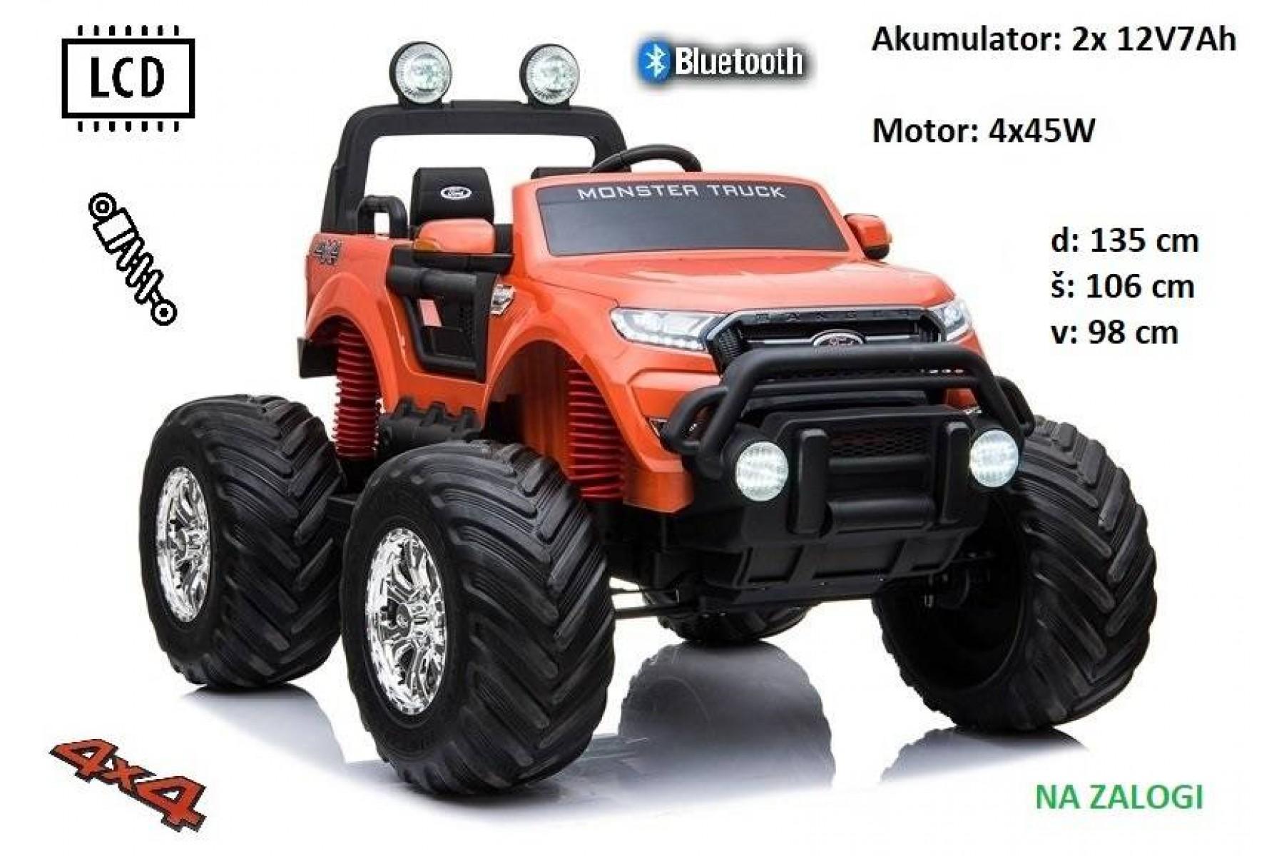 Ford Ranger Monster XL (oranžen)