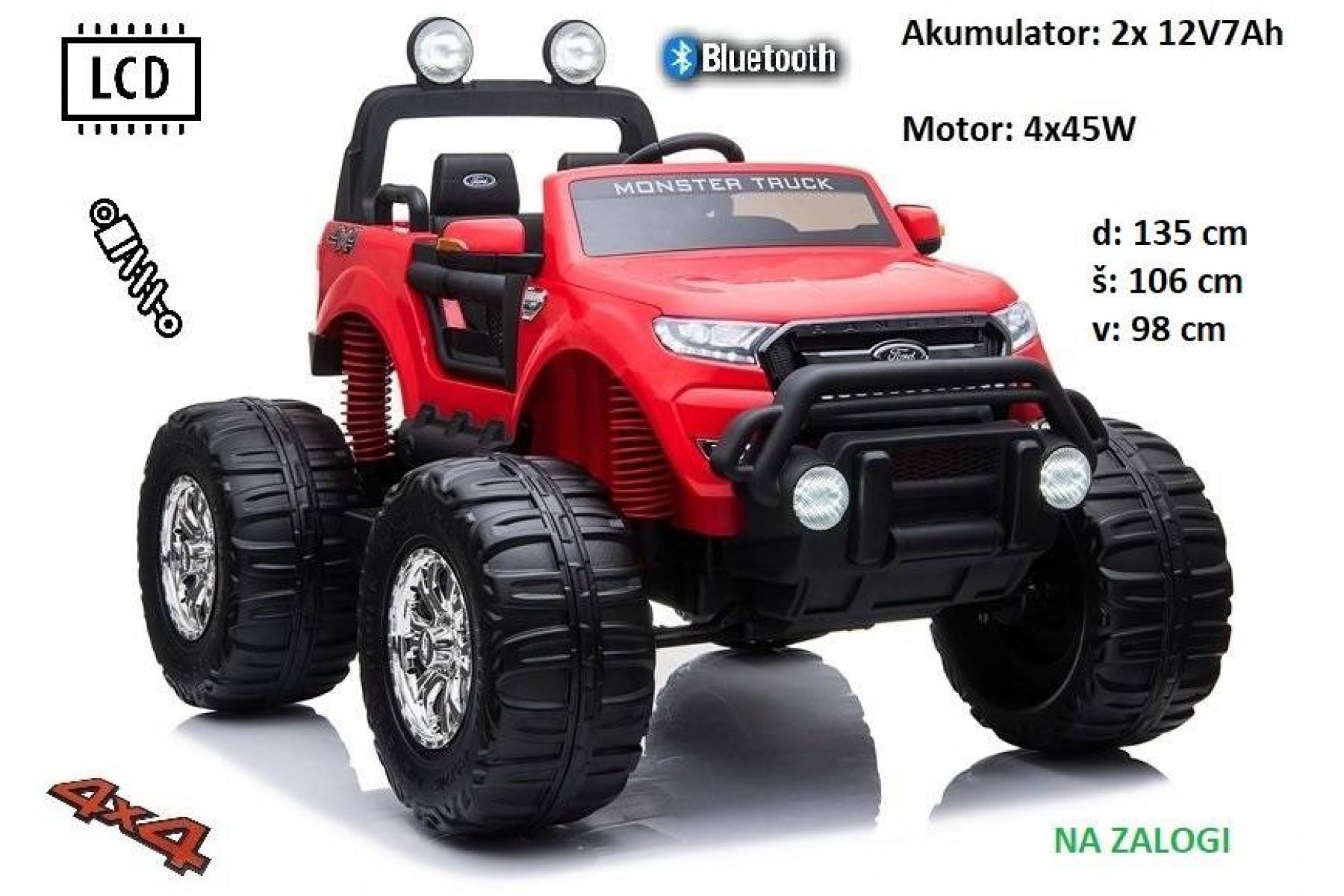 Ford Ranger Monster XL (rdeč) AKCIJA