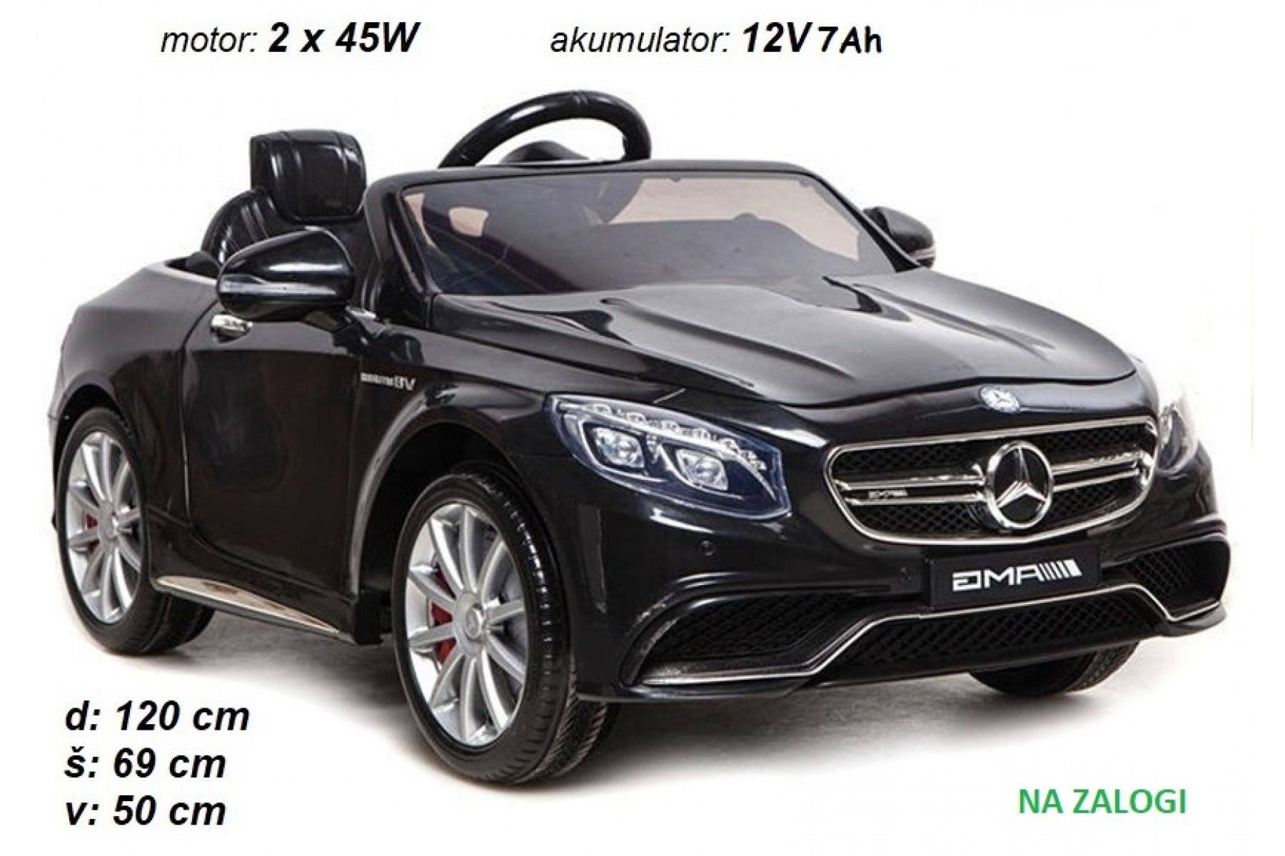 Mercedes S63 AMG (črn)