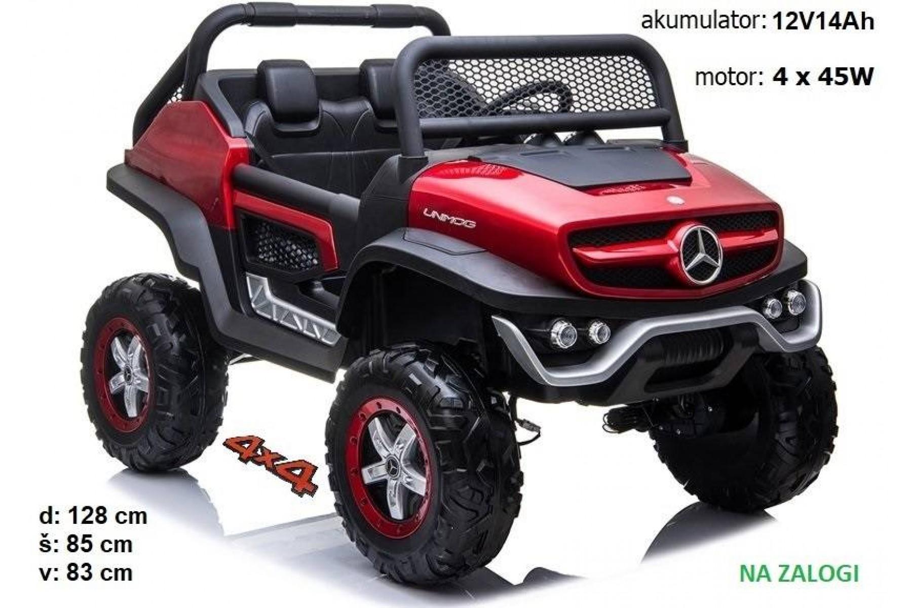 Mercedes Unimog (rdeč)