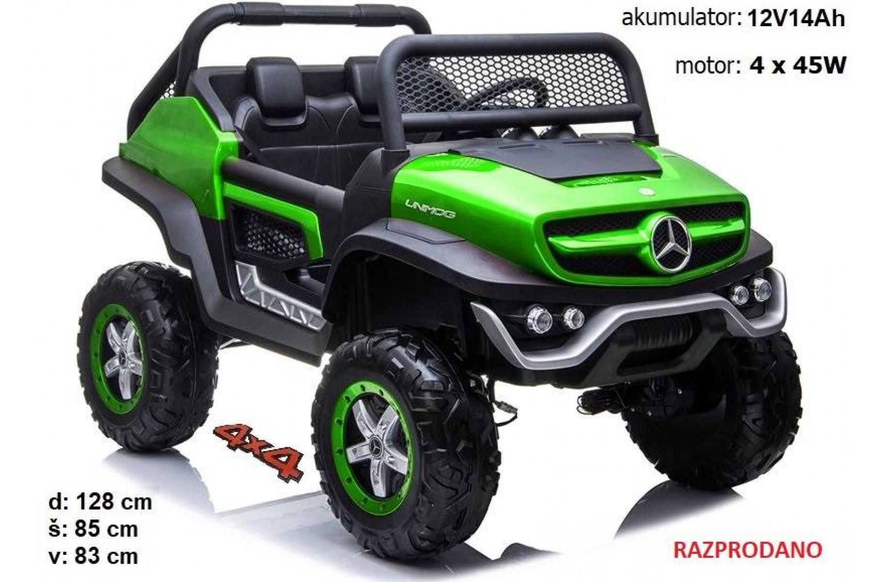 Mercedes Unimog (zelen)