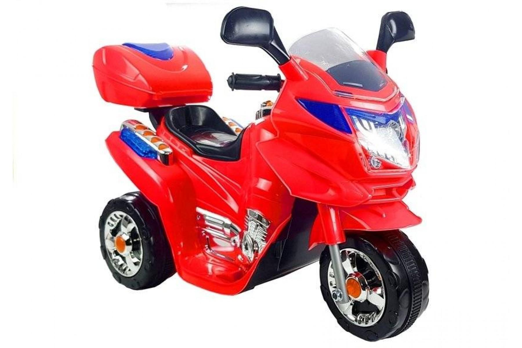 OTROŠKI MOTOR NA AKUMULATOR HC8051 (rdeč)