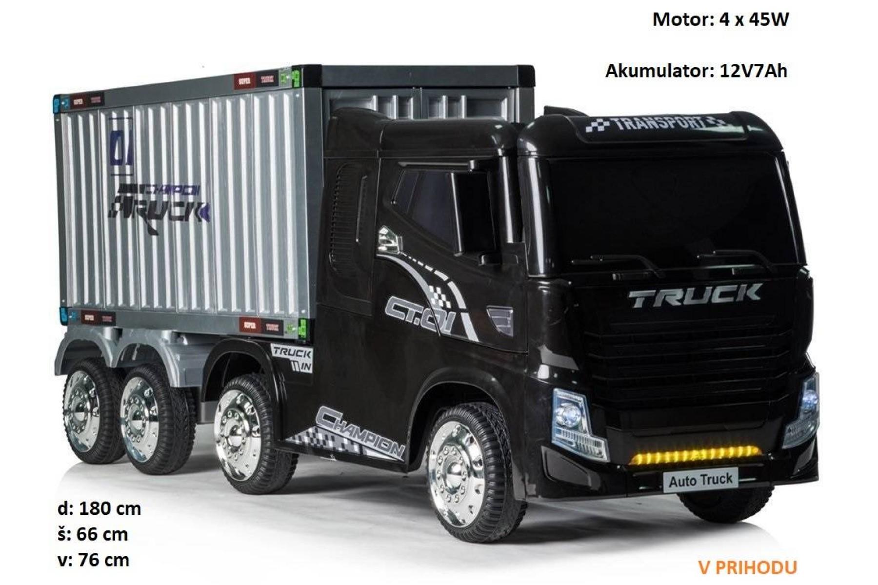 Otroški tovornjak s prikolico JJ2011