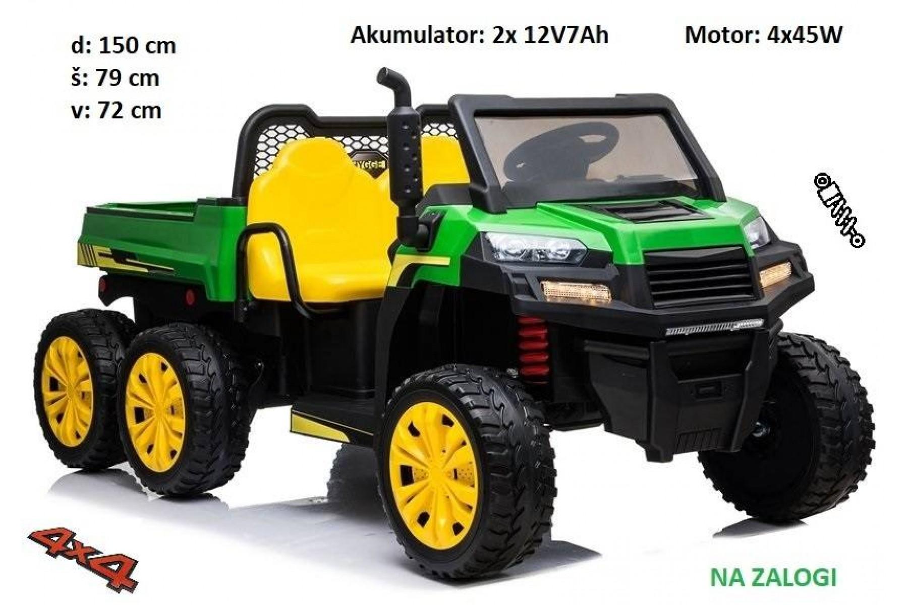 Otroški traktor Farmer 4x4