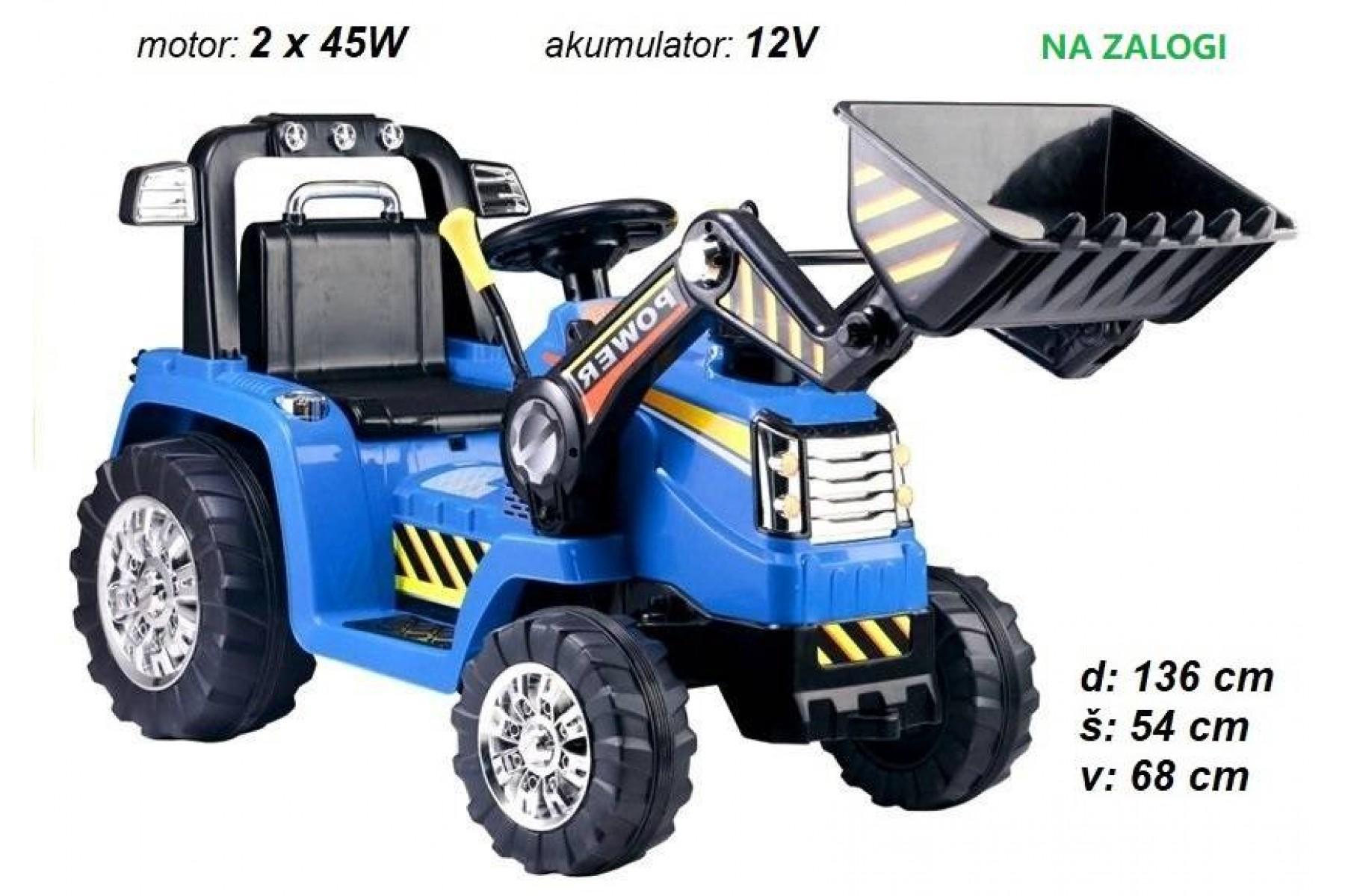 Otroški traktor / bager