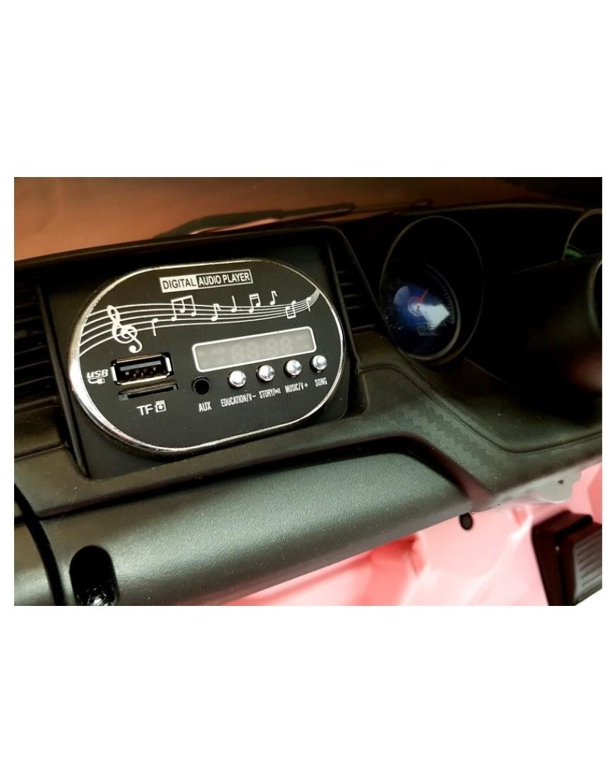 Avto na akumulator roza