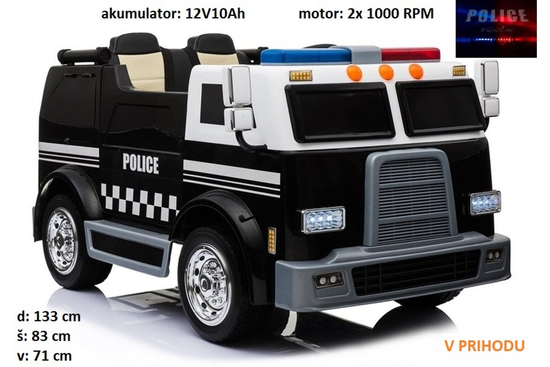 otroški POLICIJSKI tovornjak (dvosed)