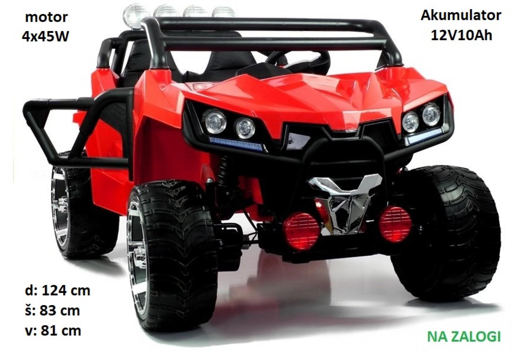 otroški buggy KL2988 (rdeč)
